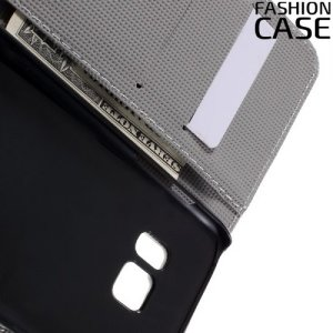 Чехол книжка для Samsung Galaxy S7 - с рисунком Лотос
