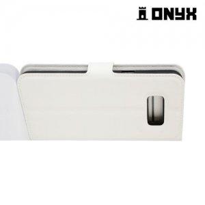 Чехол книжка для Samsung Galaxy S8 - Белый