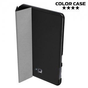 Чехол книжка для Samsung Galaxy Tab A 10.1 2016 SM-T580 SM-T585 - Черный