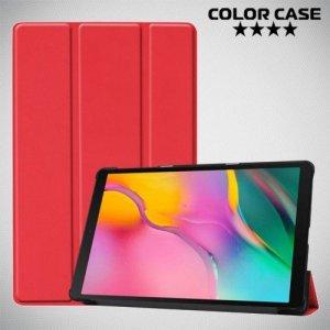Чехол книжка для Samsung Galaxy Tab A 10.1 (2019) T510 - Красный