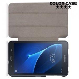 Чехол книжка для Samsung Galaxy Tab A 7.0 SM-T280 SM-T285 - Темно синий