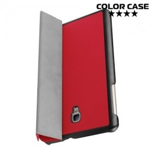 Чехол книжка для Samsung Galaxy Tab A 8.0 (2017) SM-T380 SM-T385 - Красный