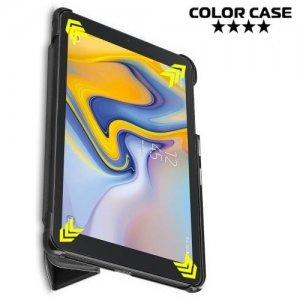 Чехол книжка для Samsung Galaxy Tab A 8.0 2018 (SM-T387) - Черный