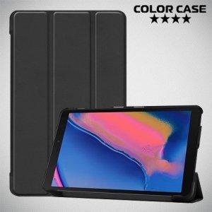 Чехол книжка для Samsung Galaxy Tab A 8.0 (2019) P200 P205 - Черный