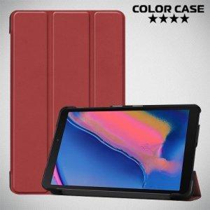 Чехол книжка для Samsung Galaxy Tab A 8.0 (2019) P200 P205 - Коричневый