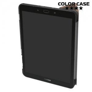 Чехол книжка для Samsung Galaxy Tab S3 9.7 SM-T825 - Золотой