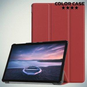 Чехол книжка для Samsung Galaxy Tab S4 10.5 SM-T830 SM-T835 - Коричневый
