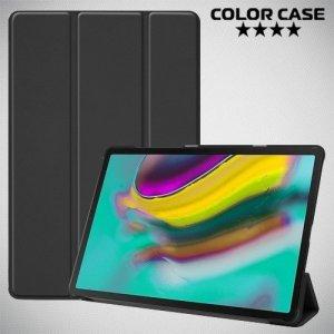 Чехол книжка для Samsung Galaxy Tab S5e SM-T720 - Черный