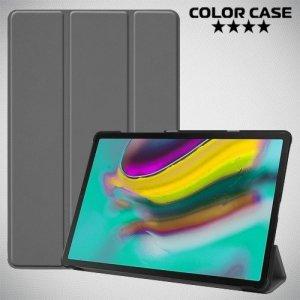 Чехол книжка для Samsung Galaxy Tab S5e SM-T720 - Серый