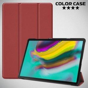 Чехол книжка для Samsung Galaxy Tab S5e SM-T720 - Коричневый