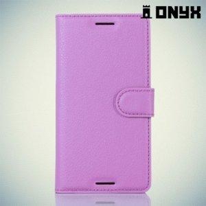 Чехол книжка для Sony Xperia X Performance - Фиолетовый