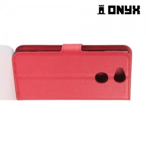 Чехол книжка для Sony Xperia XA2 - Красный