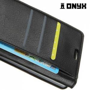 Чехол книжка для Sony Xperia XZ2 - Черный