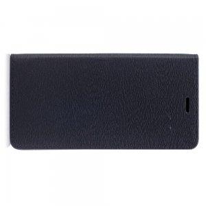 Чехол книжка для Xiaomi Mi Max 2 с отделением для карты - Черный