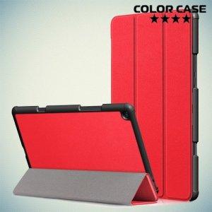 Чехол книжка для Xiaomi Mi Pad 4 Plus - Красный