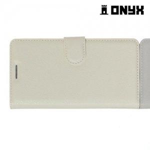 Чехол книжка для Xiaomi Redmi 3 - Белый