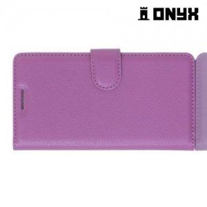 Чехол книжка для Xiaomi Redmi 3 - Фиолетовый