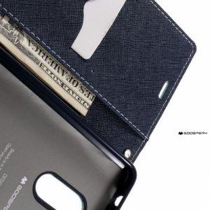 Чехол книжка для Xiaomi Redmi Note 4 / Note 4X Mercury Goospery - Бирюзовый