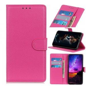 Чехол книжка кошелек с отделениями для карт и подставкой для Nokia 2.3 - Светло-Розовый
