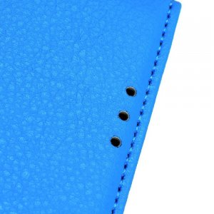 Чехол книжка кошелек с отделениями для карт и подставкой для Samsung Galaxy A70s - Синий