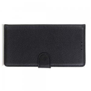 Чехол книжка кошелек с отделениями для карт и подставкой для Samsung Galaxy S20 Ultra - Черный