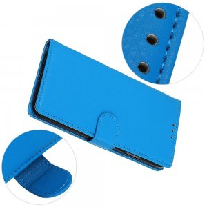Чехол книжка кошелек с отделениями для карт и подставкой для Samsung Galaxy S20 Ultra - Синий