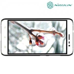 Чехол накладка Nillkin Super Frosted Shield для Asus Zenfone 3 ZE520KL - Черный
