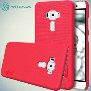 Чехол накладка Nillkin Super Frosted Shield для Asus Zenfone 3 ZE520KL - Красный