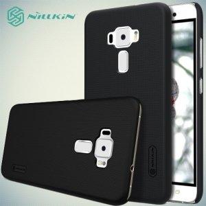 Чехол накладка Nillkin Super Frosted Shield для Asus Zenfone 3 ZE552KL  - Черный