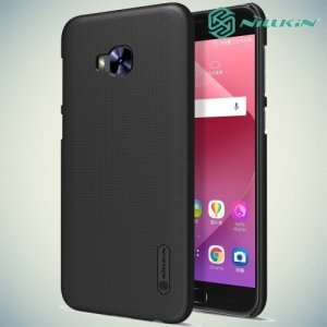 Чехол накладка Nillkin Super Frosted Shield для Asus Zenfone 4 Selfie Pro ZD552KL - Черный