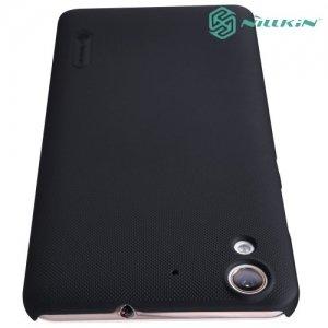 Чехол накладка Nillkin Super Frosted Shield для Huawei Y6 II - Черный