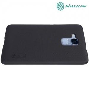 Чехол накладка Nillkin Super Frosted Shield для Huawei Honor 5C - Черный