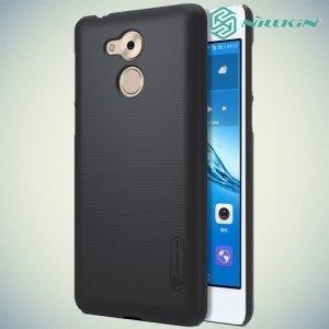 Чехол накладка Nillkin Super Frosted Shield для Huawei Honor 6C - Черный