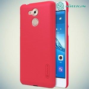 Чехол накладка Nillkin Super Frosted Shield для Huawei Honor 6C - Красный