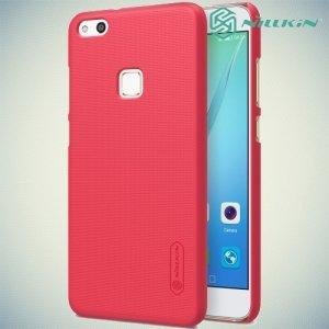 Чехол накладка Nillkin Super Frosted Shield для Huawei P10 Lite - Красный