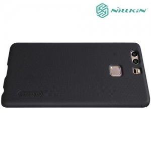 Чехол накладка Nillkin Super Frosted Shield для Huawei P9 - Черный