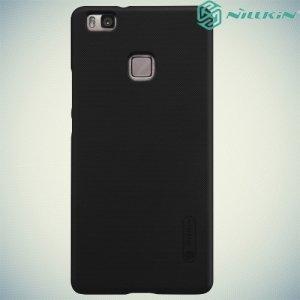 Чехол накладка Nillkin Super Frosted Shield для Huawei P9 lite - Черный