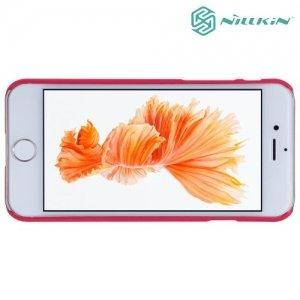 Чехол накладка Nillkin Super Frosted Shield для iPhone 8/7 - Красный