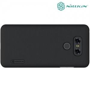 Чехол накладка Nillkin Super Frosted Shield для LG G6 H870DS - Черный