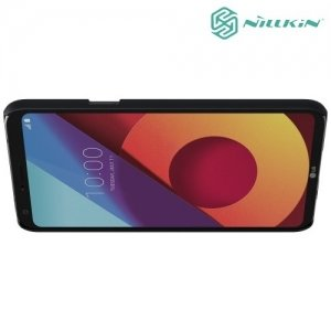 Чехол накладка Nillkin Super Frosted Shield для LG Q6 M700AN / Q6a M700 - Черный