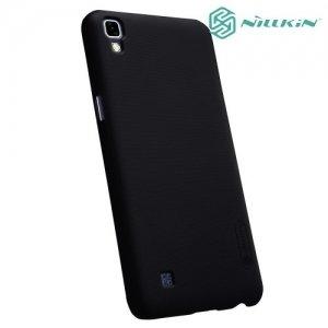 Чехол накладка Nillkin Super Frosted Shield для LG X Power K220DS - Черный