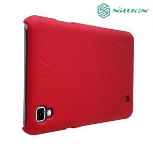 Чехол накладка Nillkin Super Frosted Shield для LG X Power K220DS - Красный