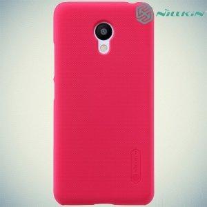 Чехол накладка Nillkin Super Frosted Shield для Meizu m3s mini - Красный