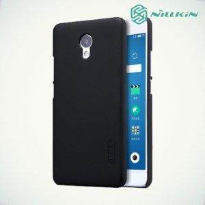 Чехол накладка Nillkin Super Frosted Shield для Meizu M5 Note - Черный