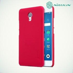 Чехол накладка Nillkin Super Frosted Shield для Meizu M5 Note - Красный