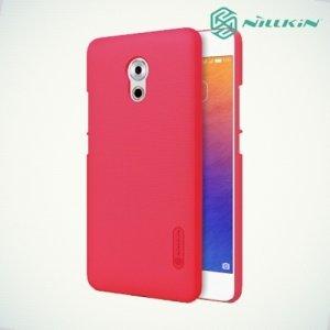 Чехол накладка Nillkin Super Frosted Shield для Meizu Pro 6 Plus - Красный