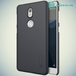 Чехол накладка Nillkin Super Frosted Shield для Nokia 7 - Черный