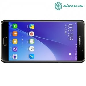 Чехол накладка Nillkin Super Frosted Shield для Samsung Galaxy A5 2016 SM-A510F - Черный