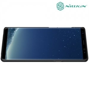 Чехол накладка Nillkin Super Frosted Shield для Samsung Galaxy Note 8 - Черный
