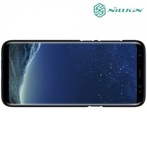 Чехол накладка Nillkin Super Frosted Shield для Samsung Galaxy S8 - Черный